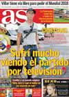 Portada diario AS del 6 de Octubre de 2009