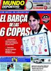 Portada Mundo Deportivo del 6 de Octubre de 2009