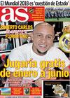 Portada diario AS del 7 de Octubre de 2009