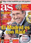 Portada diario AS del 8 de Octubre de 2009
