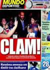Portada Mundo Deportivo del 8 de Octubre de 2009
