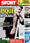 Portada diario Sport del 9 de Octubre de 2009
