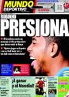 Portada Mundo Deportivo del 9 de Octubre de 2009
