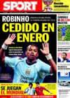 Portada diario Sport del 10 de Octubre de 2009