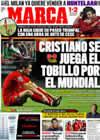 Portada diario Marca del 11 de Octubre de 2009