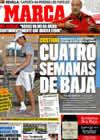 Portada diario Marca del 12 de Octubre de 2009