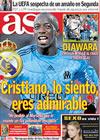 Portada diario AS del 13 de Octubre de 2009