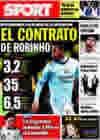 Portada diario Sport del 13 de Octubre de 2009