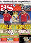 Portada diario AS del 14 de Octubre de 2009