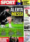 Portada diario Sport del 14 de Octubre de 2009