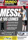 Portada Mundo Deportivo del 14 de Octubre de 2009