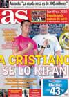 Portada diario AS del 16 de Octubre de 2009
