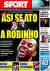 Portada diario Sport del 16 de Octubre de 2009