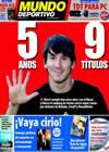 Portada Mundo Deportivo del 16 de Octubre de 2009