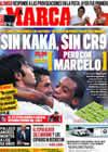 Portada diario Marca del 17 de Octubre de 2009