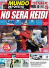 Portada Mundo Deportivo del 17 de Octubre de 2009