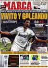 Portada diario Marca del 18 de Octubre de 2009