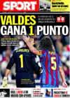 Portada diario Sport del 18 de Octubre de 2009