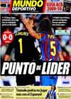 Portada Mundo Deportivo del 18 de Octubre de 2009