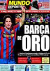 Portada Mundo Deportivo del 19 de Octubre de 2009