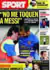 Portada diario Sport del 20 de Octubre de 2009
