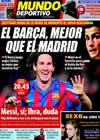 Portada Mundo Deportivo del 20 de Octubre de 2009