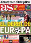 Portada diario AS del 21 de Octubre de 2009
