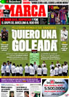 Portada diario Marca del 21 de Octubre de 2009
