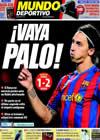 Portada Mundo Deportivo del 21 de Octubre de 2009