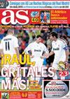 Portada diario AS del 22 de Octubre de 2009