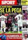 Portada diario Sport del 22 de Octubre de 2009