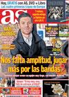 Portada diario AS del 24 de Octubre de 2009