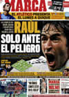 Portada diario Marca del 24 de Octubre de 2009