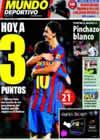 Portada Mundo Deportivo del 25 de Octubre de 2009