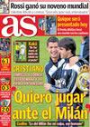 Portada diario AS del 26 de Octubre de 2009
