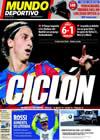 Portada Mundo Deportivo del 26 de Octubre de 2009