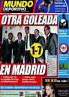 Portada Mundo Deportivo del 27 de Octubre de 2009