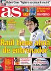 Portada diario AS del 29 de Octubre de 2009