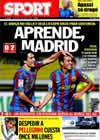 Portada diario Sport del 29 de Octubre de 2009