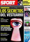 Portada diario Sport del 30 de Octubre de 2009