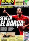 Portada Mundo Deportivo del 30 de Octubre de 2009