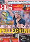 Portada diario AS del 31 de Octubre de 2009