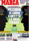 Portada diario Marca del 31 de Octubre de 2009