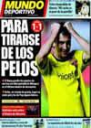 Portada Mundo Deportivo del 1 de Noviembre de 2009