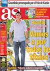Portada diario AS del 2 de Noviembre de 2009