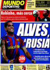 Portada Mundo Deportivo del 2 de Noviembre de 2009