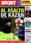 Portada diario Sport del 4 de Noviembre de 2009