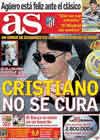 Portada diario AS del 5 de Noviembre de 2009