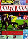 Portada Mundo Deportivo del 5 de Noviembre de 2009
