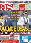 Portada diario AS del 6 de Noviembre de 2009